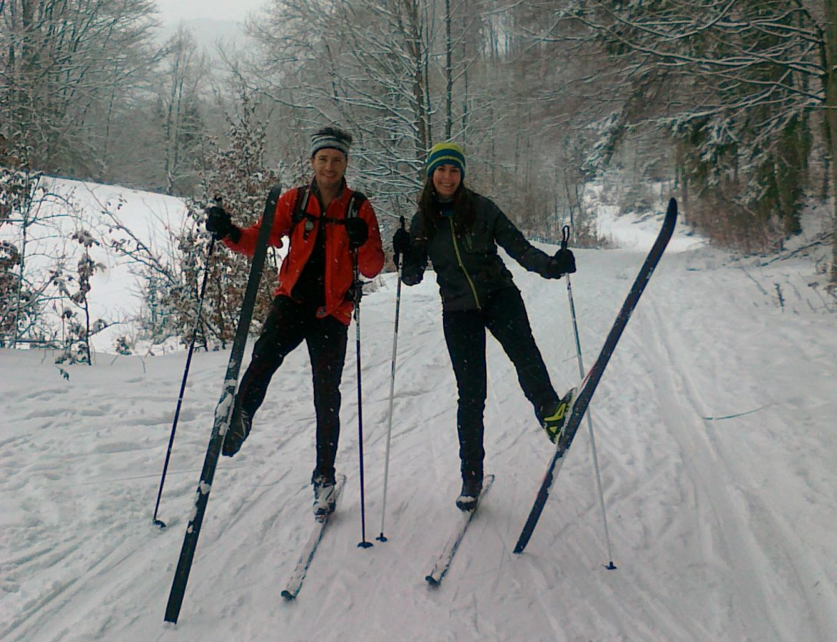 Cross-country skiing tours